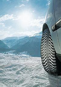 A winter tyre
