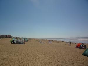 rocky sand - walking on it is like walking on egg shells!