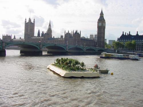 tropical island in London